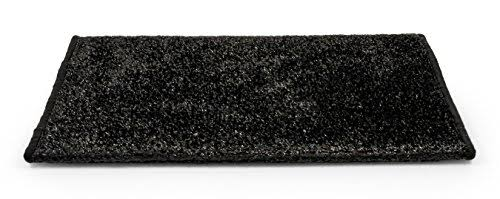 "Camco 42936 Premium Wrap Around RV Step Rug, Turf Material (22"" x 20""), Black"
