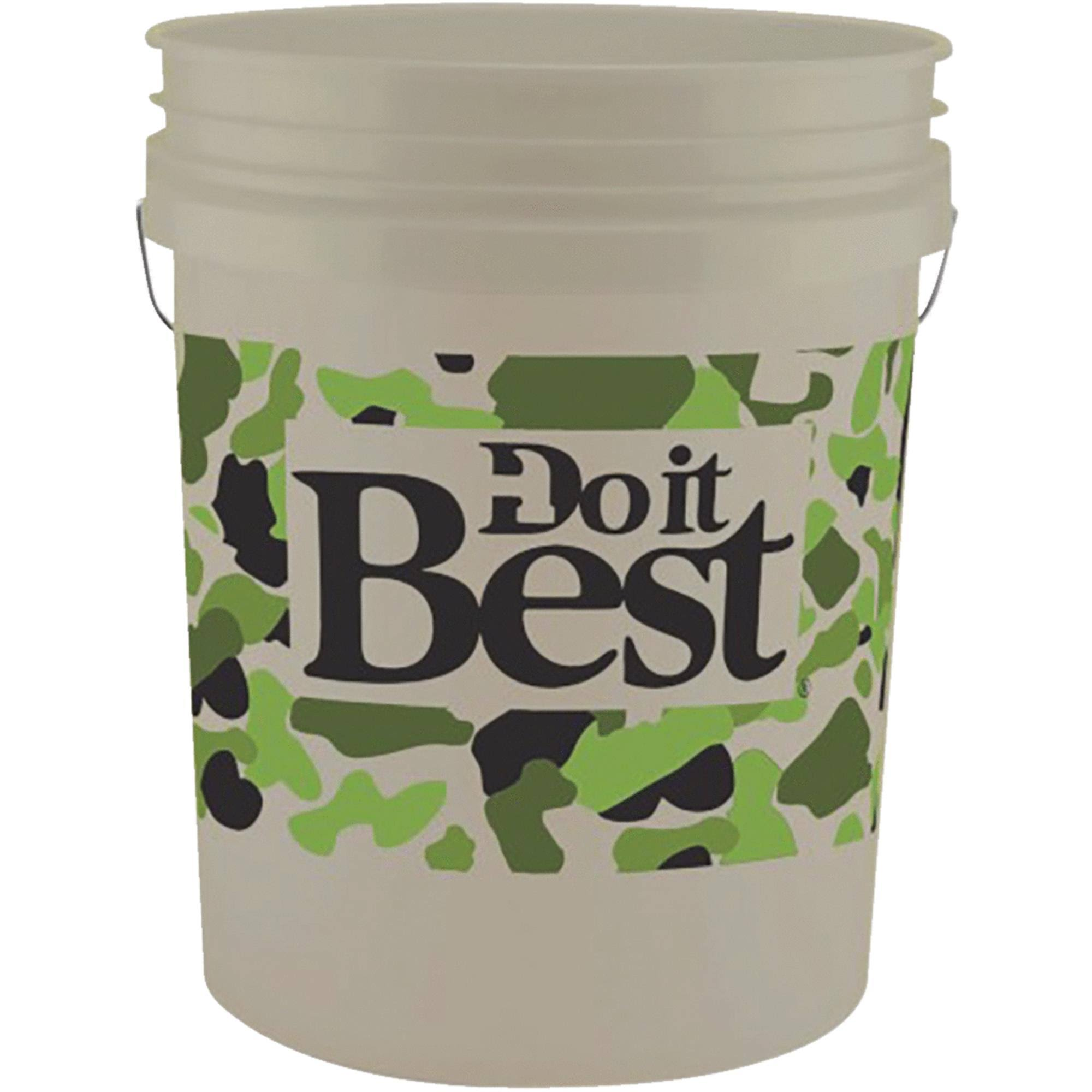 Leaktite Do It Best 5 Gallon Plastic Pail 05GDCAM1120
