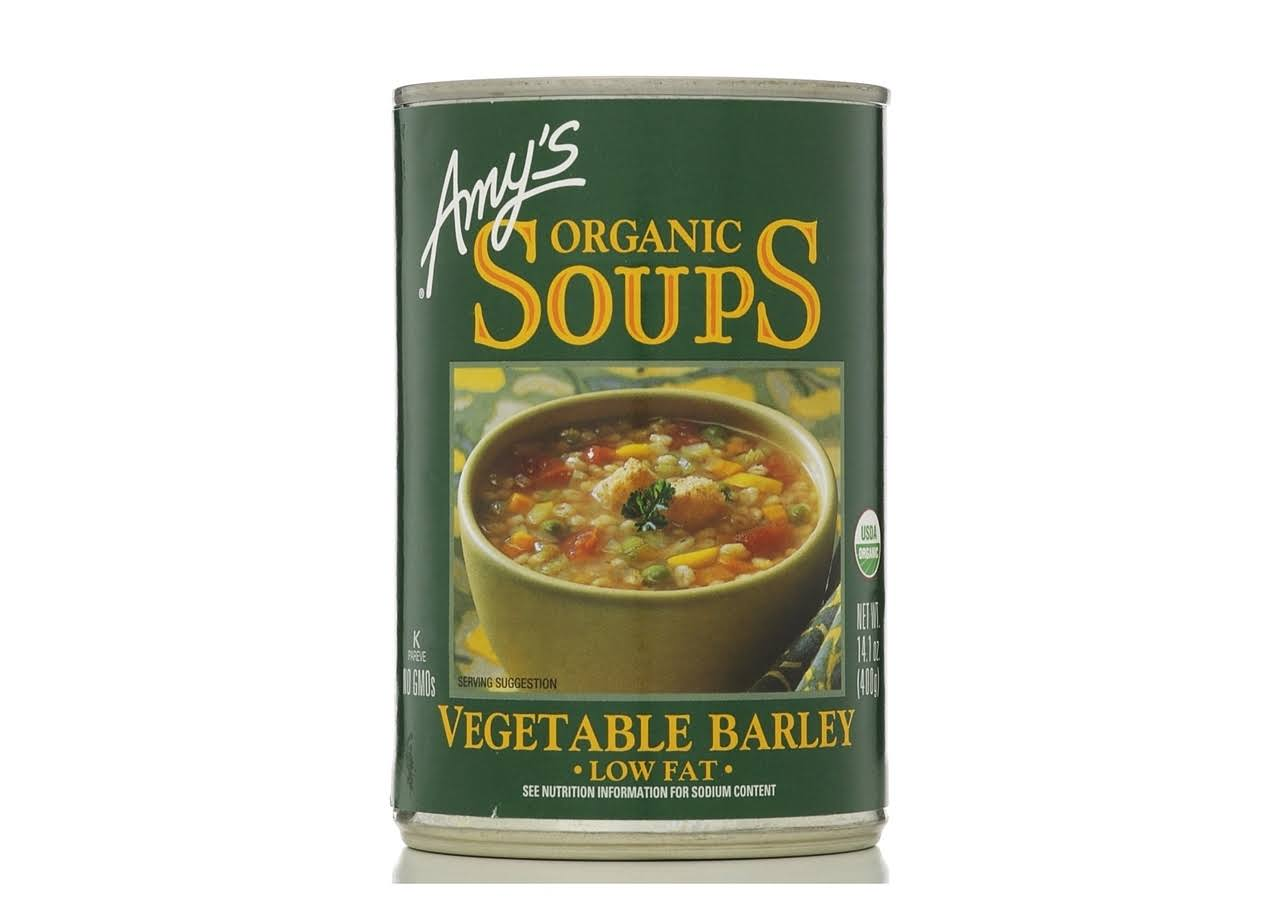 Amy's Organic Soup - Vegetable Barley, 400g