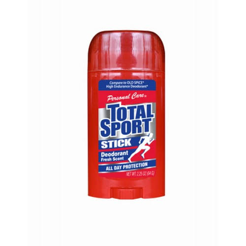 Personal Care Total Sport Stick Deodorant - Fresh Scent, 64g