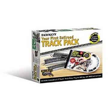 Bachmann HO Your First Railroad Track Pack - Silver