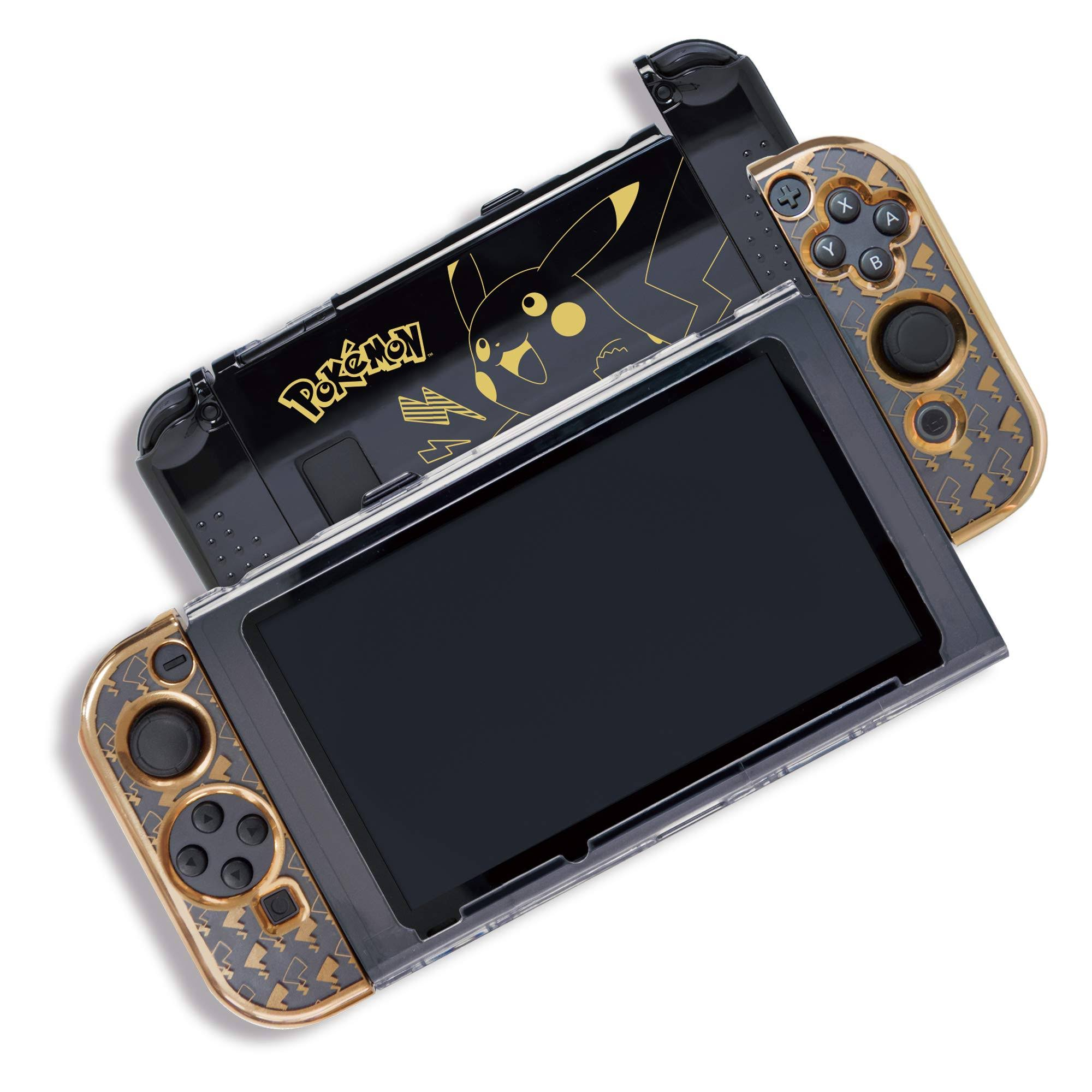 Hori Pikachu Gold Premium Protector for Nintendo Switch