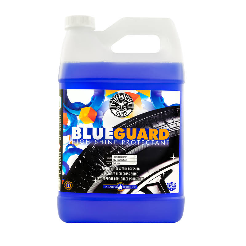Chemical Guys Automotive Care and Detailing Blue Guard II Wet Look Premium Dressing - 1gal