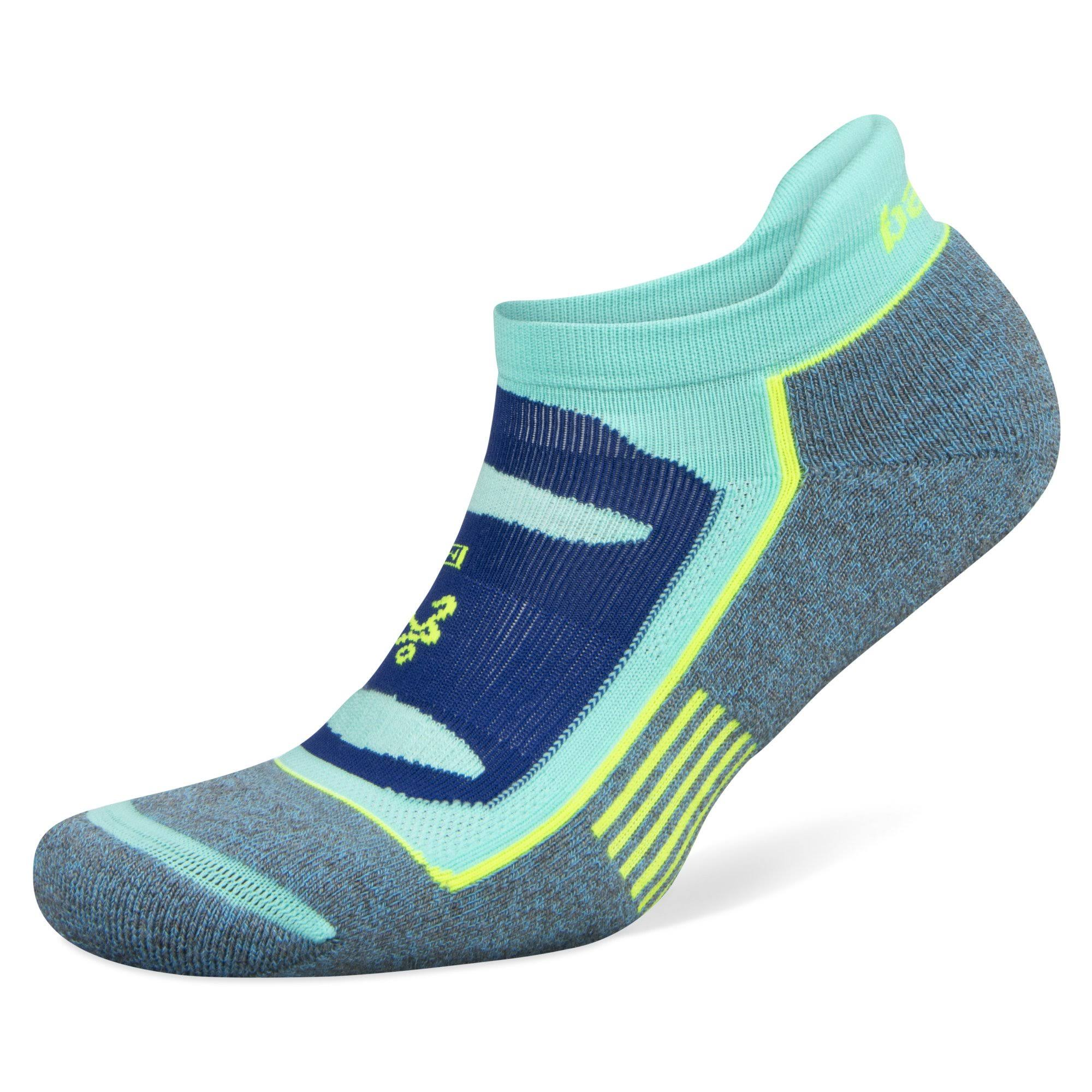 Balega Blister Resist No Show Socks - Blue/Aqua, Small