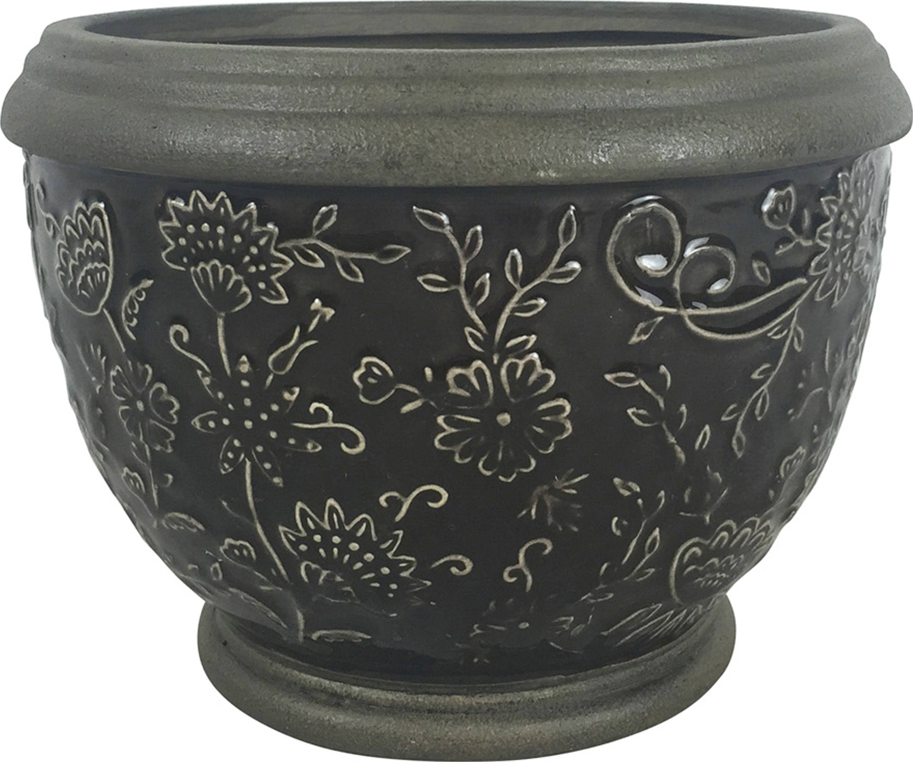 Southern Patio - Gracie Planter - Gray - 6in