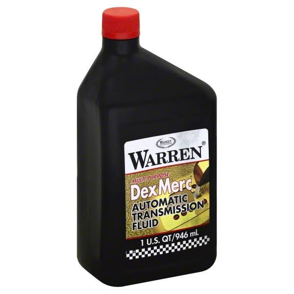 Warren Oil WARMPATF12PL 1 Quart. Multi-Purpose Automatic Transmission Fluid