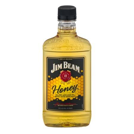 Jim Beam Honey Bourbon Whiskey, 375 ml
