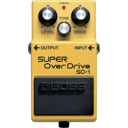 Boss SD1 Super Overdrive Guitar Pedal