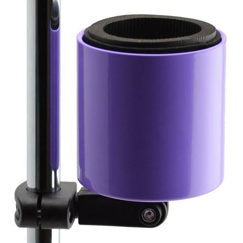 Kroozercups Deluxe Bicycle Cup Holder - Purple, 2""