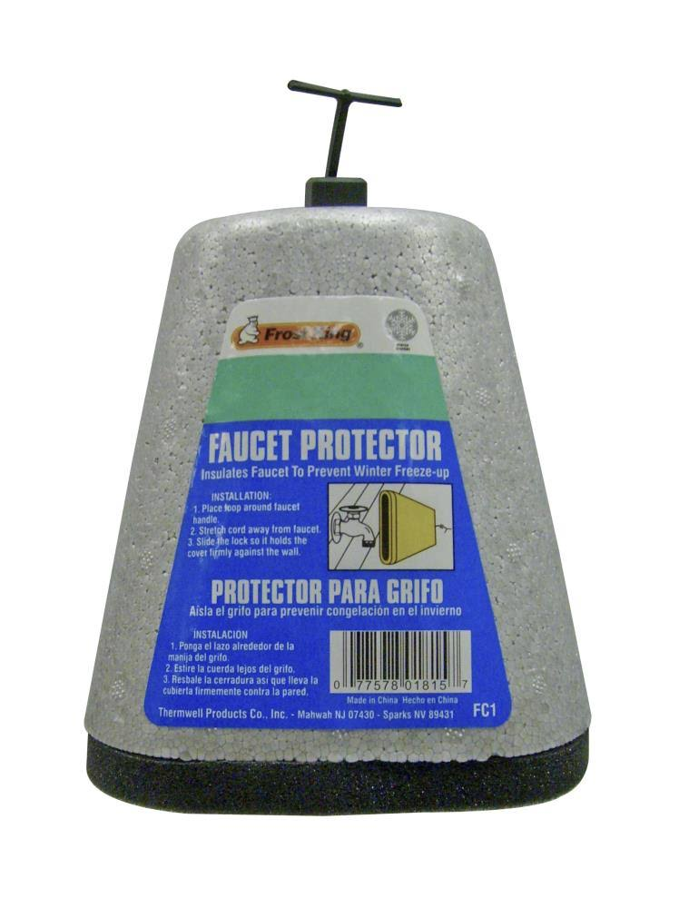 Frost King FC1 Outdoor Faucet Cover - Grey