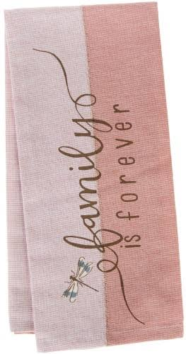 "Kay Dee Designs Kitchen Towel - ""Family Is Forever"" Dragonfly"