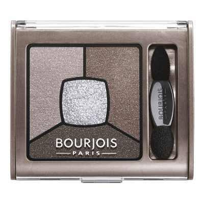 Bourjois Paris Smoky Stories Quad Eyeshadow Palette - 05 Good Nude, 3.2g