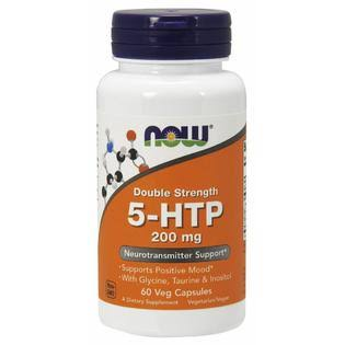Now 5-HTP - 200mg, 60 Vcaps
