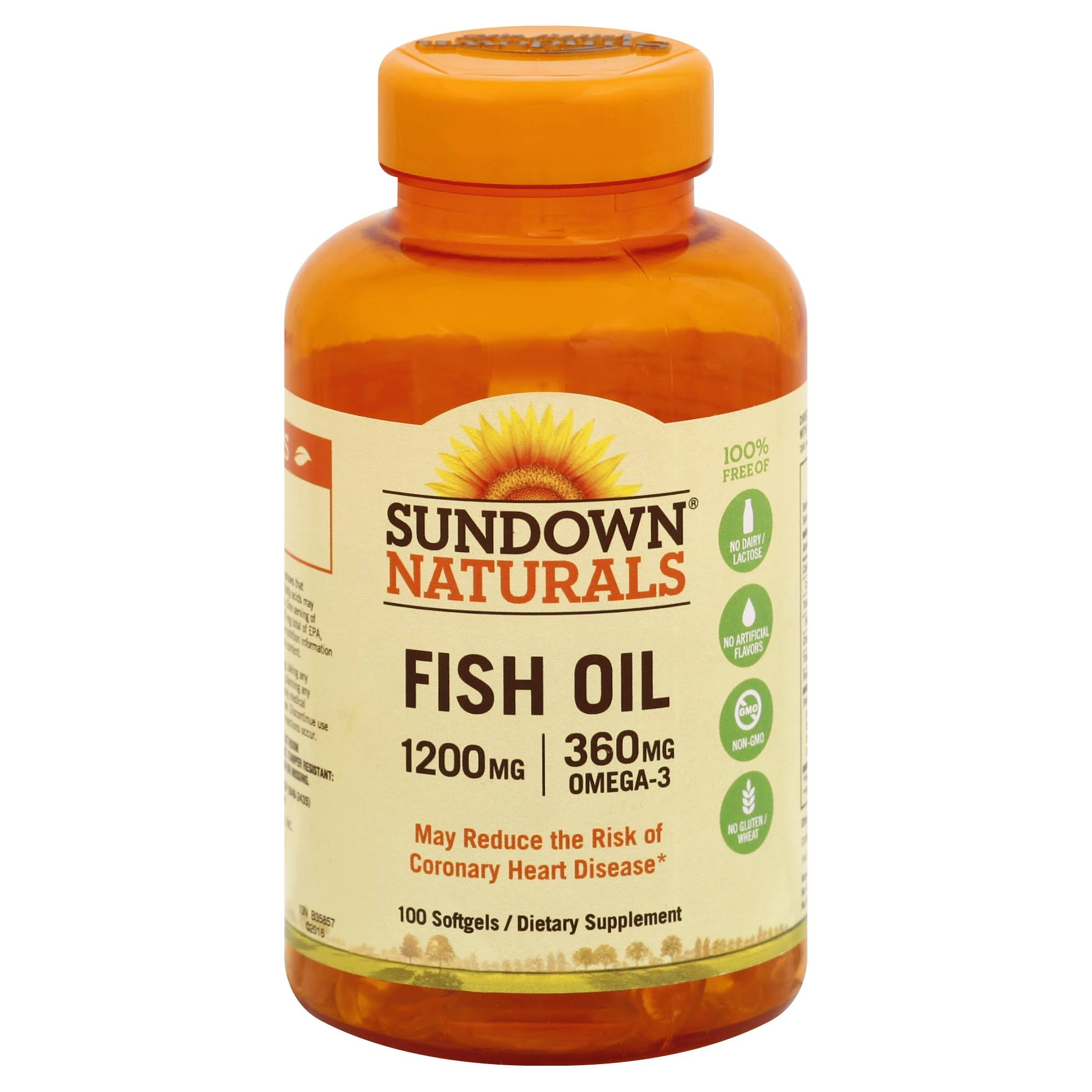 Sundown Naturals Extra Strength Fish Oil - 1200mg, 90 ct