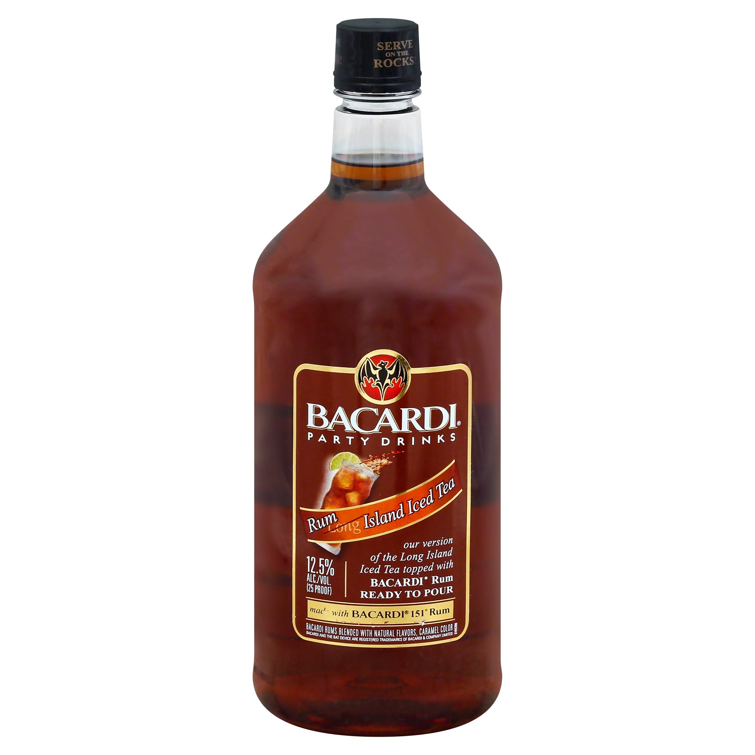 Bacardi Party Drinks - Rum Island Iced Tea, 1.75L