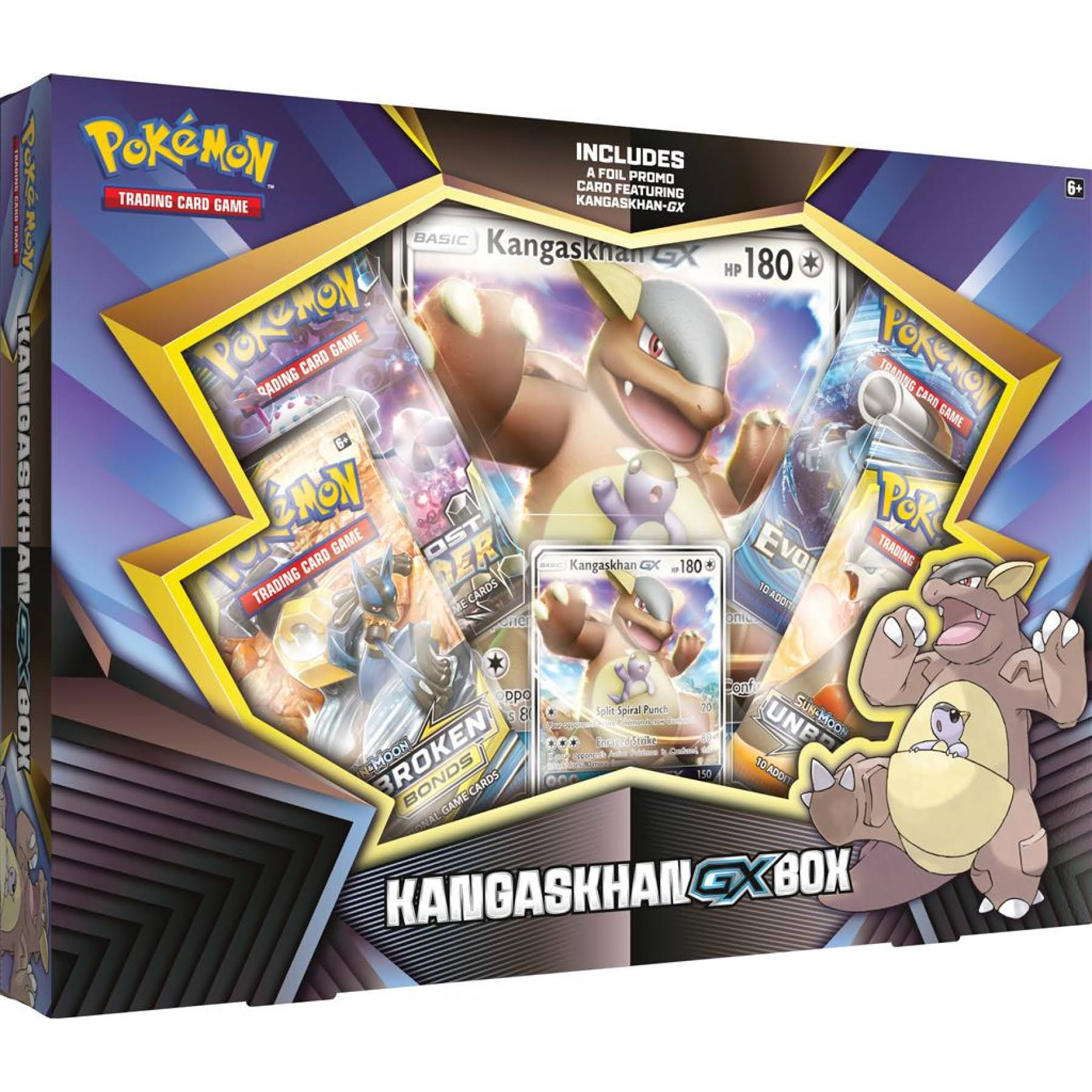 Pokemon - Kangaskhan-GX Box