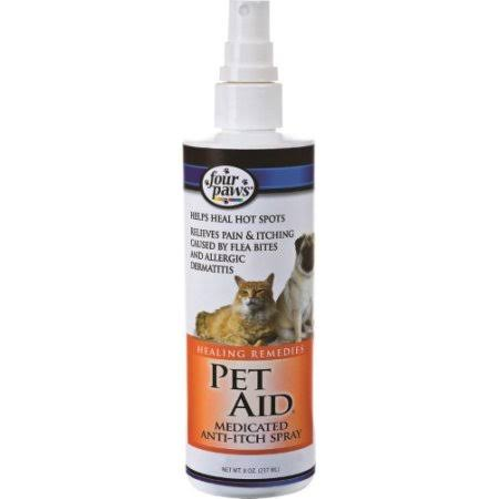 Pet Aid Medicated Anti Itch Spray