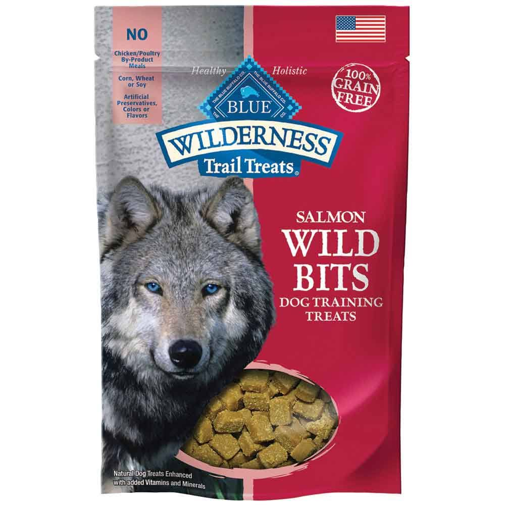 Blue Buffalo Wild Salmon Dog Treat - 4oz