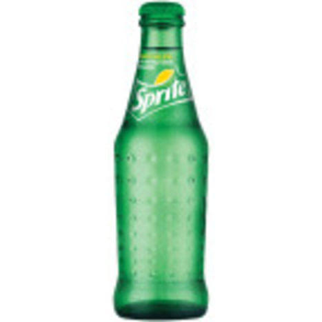 Sprite Lemon-Lime Soda 8 Oz Glass Bottle