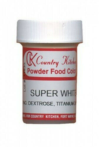 Super White Powdered Food Colouring. CK Products. Huge Saving