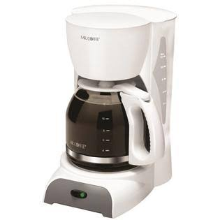 Mr Coffee Maker - White, 12 cup