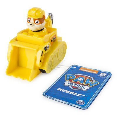 Paw Patrol Rescue Racers Feature Rubble