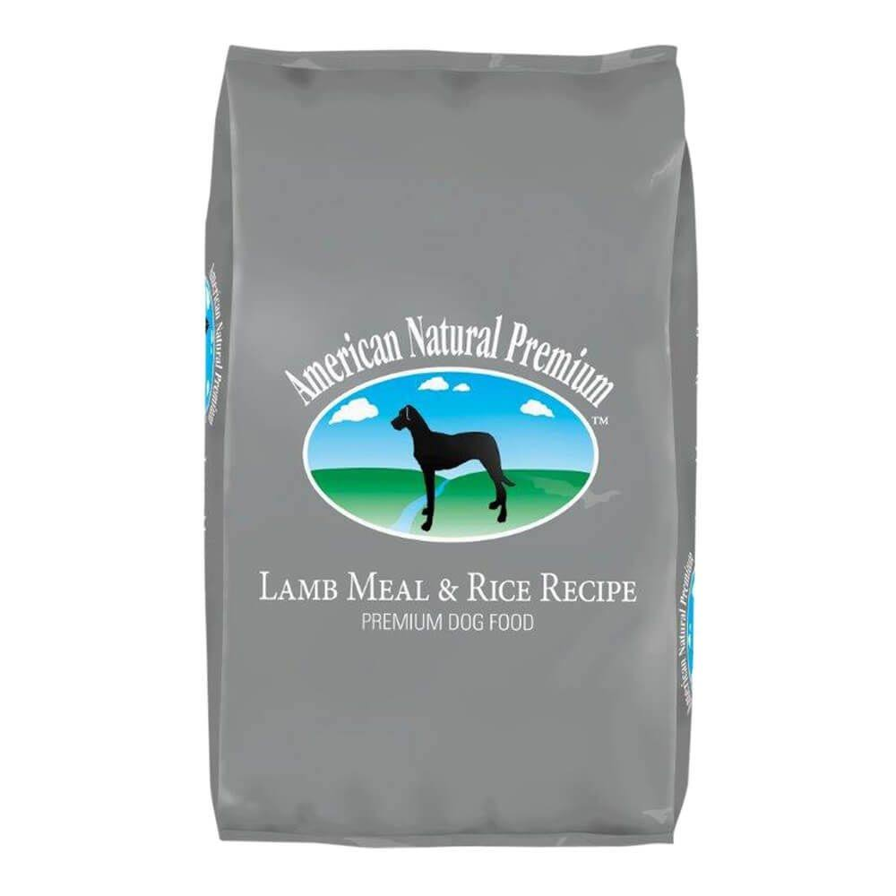 American Natural Premium Lamb Meal & Rice Recipe Dry Dog Food 12lb