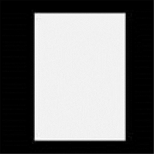 "Bazic 20"" x 30"" White Foam Board"