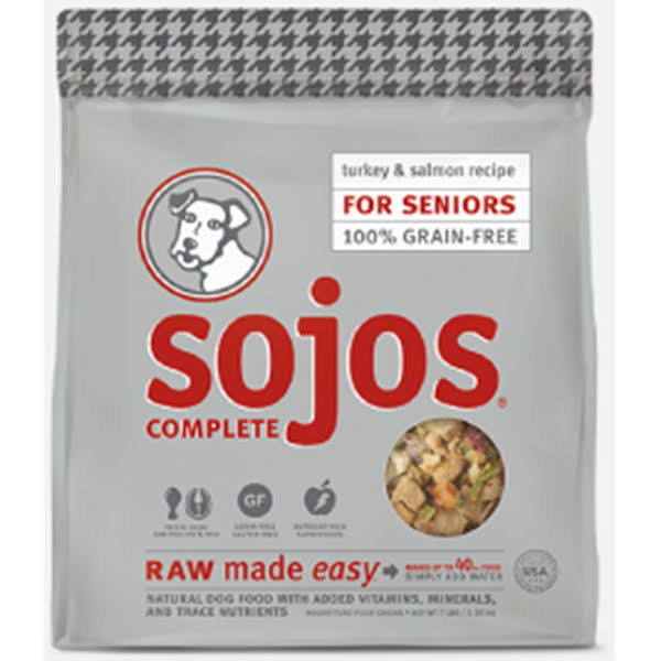 Sojos Complete Grain-Free Freeze Dried Dog Food - Turkey Recipe, 8lbs