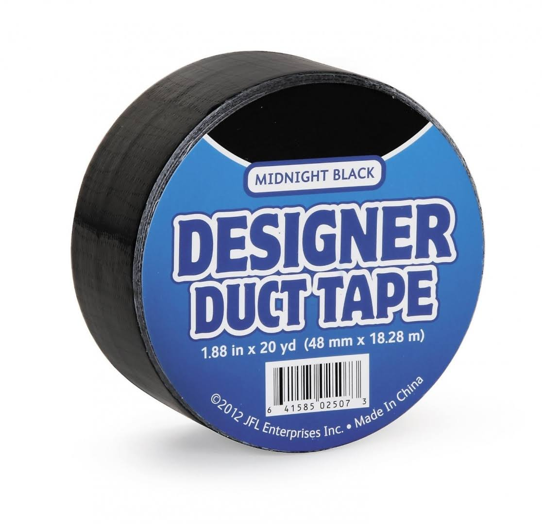 Just for Laughs JFL2507 Duct Tape, Midnight Black