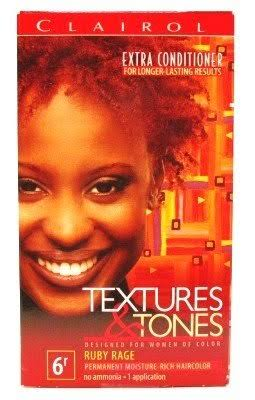 Clairol Textures and Tones Hair Color - 6R Ruby Rage