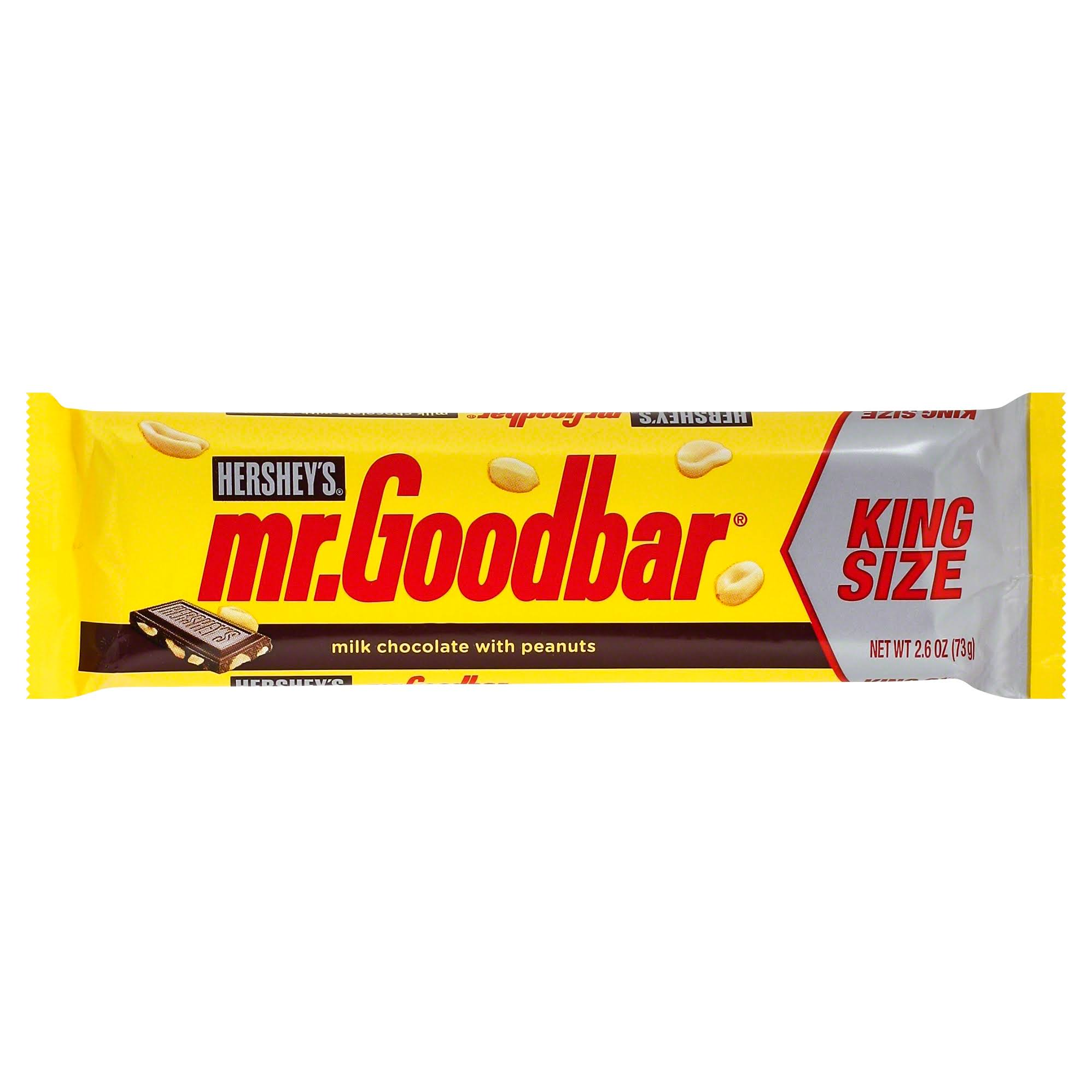 Hershey's Mr. Goodbar Candy Bar - King Size