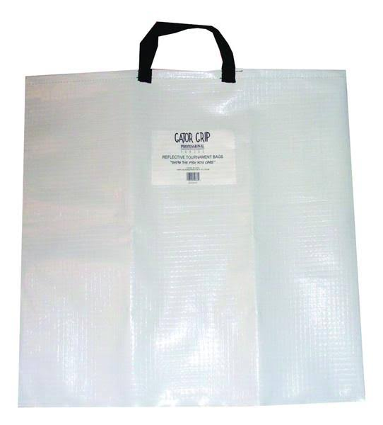 Gator Grip Fish Weigh Bag - White/Black