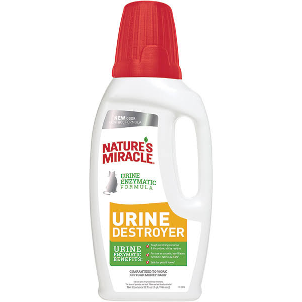 Nature's Miracle Urine Destroyer for Cats - 32 fl oz jug