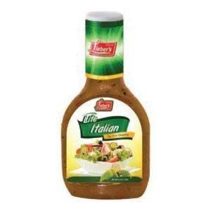 Lieber's Salad Dressing, Lite Italian - 16 fl oz bottle