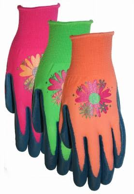 Midwest Quality Gloves 66D4-L Ladies Latex Gripping Gloves