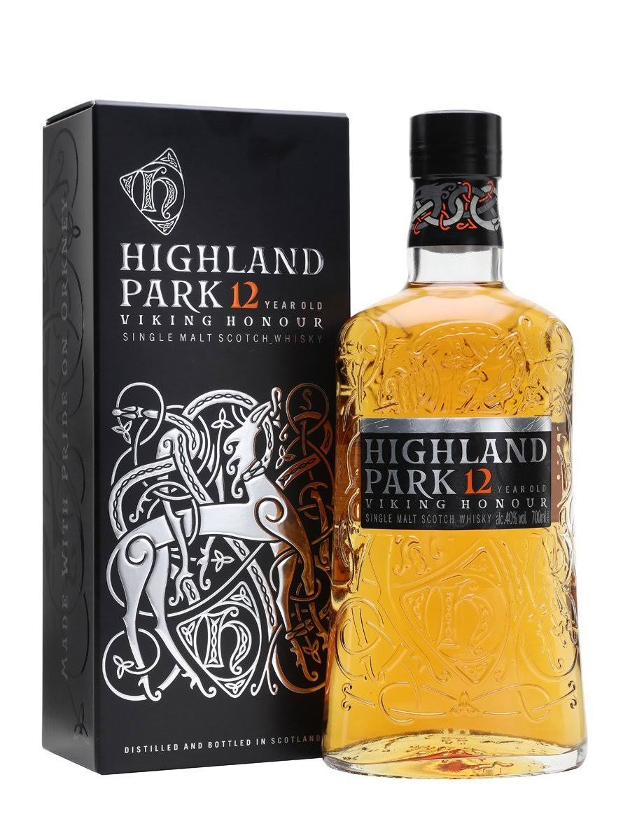 Highland Park 12 Year Old Single Malt Scotch Whisky - 750 ml bottle
