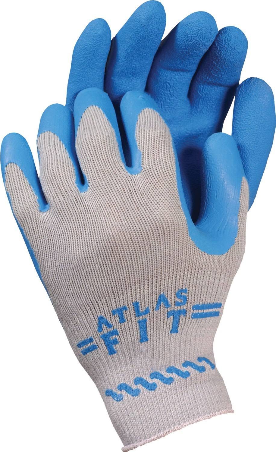 Bellingham Latex Palm Dip Gloves - Blue, Small