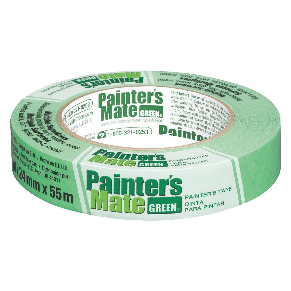 "Painter's Mate Green Masking Tape - 0.94"" x 60yds"