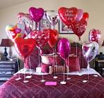 Balloons Decorations Ideas | Kitchen Layout and Decor Ideas - Valentine's Day Decorating Ideas