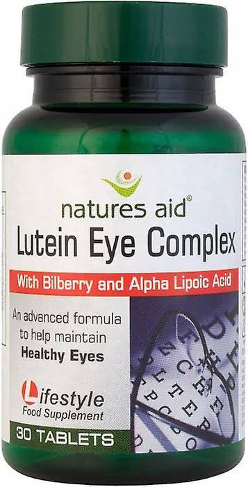 Nature's Aid Lutein Eye Complex - 30 Tablets