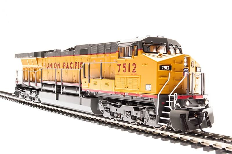 Broadway Limited Imports HO GE AC6000 Up 7505 W/sd Model Train 5690