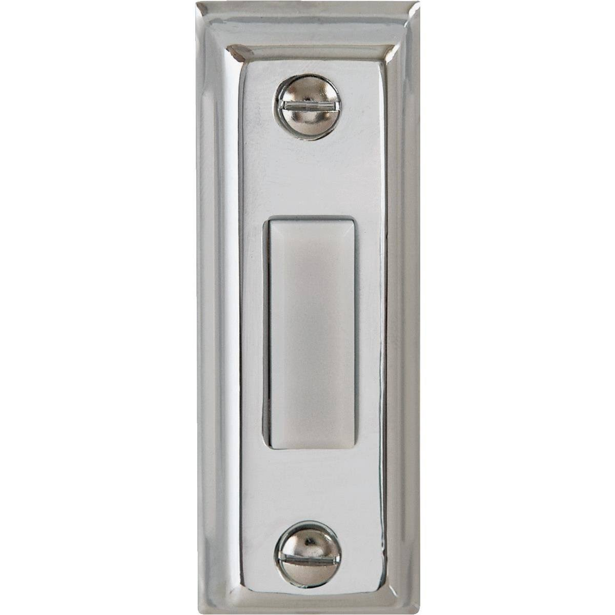 IQ America Rectangular Design Lighted Doorbell Push-Button