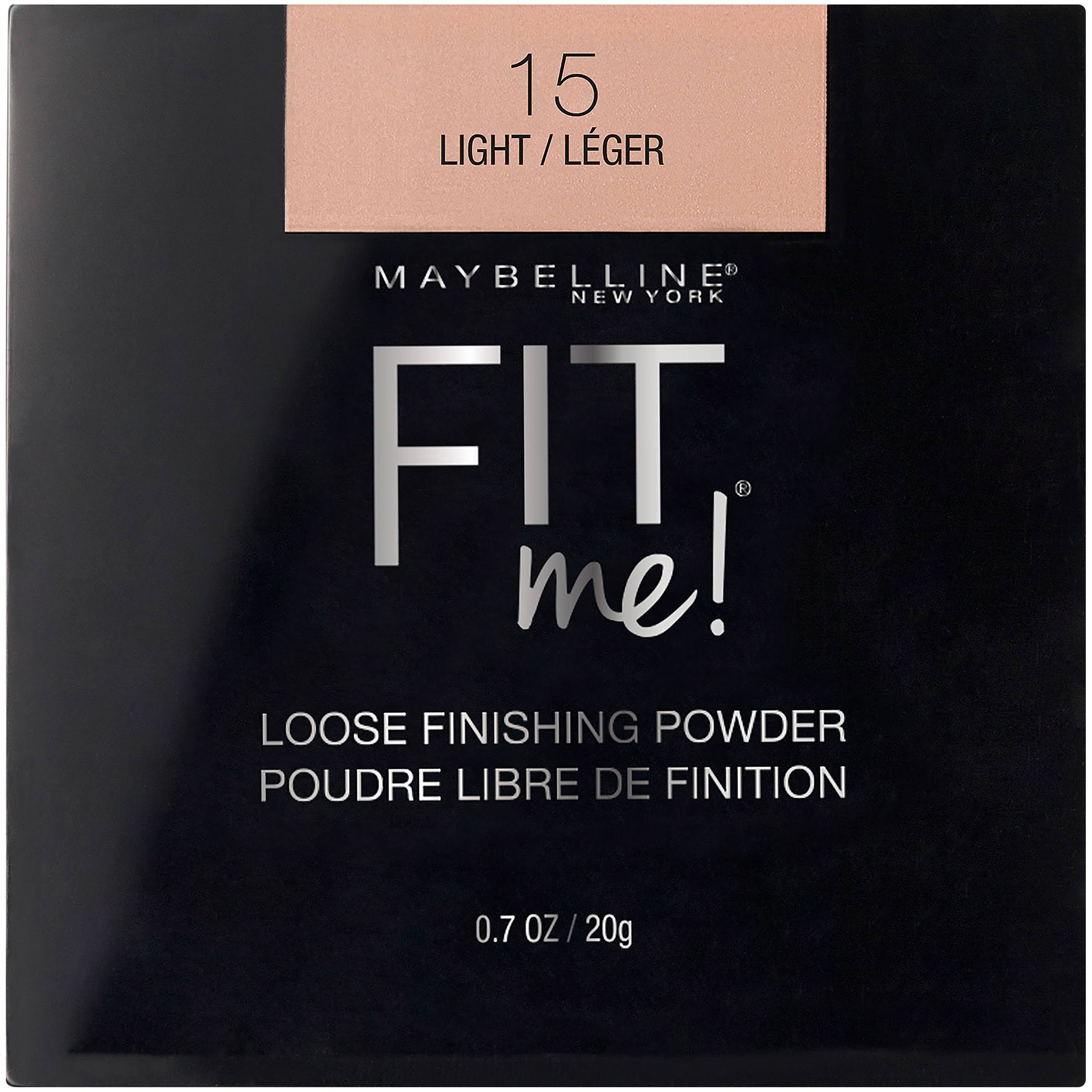 Maybelline Fit Me Loose Powder - 15 Light, 20g