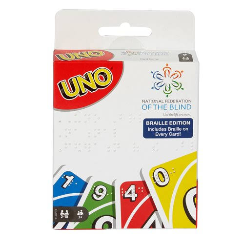 Braille Uno Game