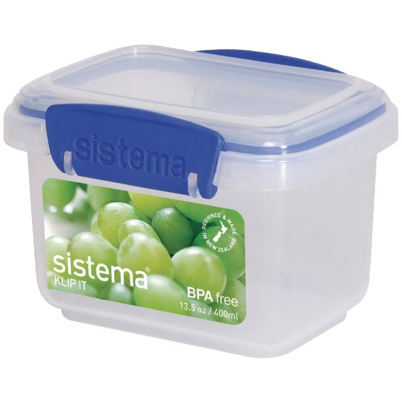 Sistema Klip It Food Storage Container - Clear, 400ml