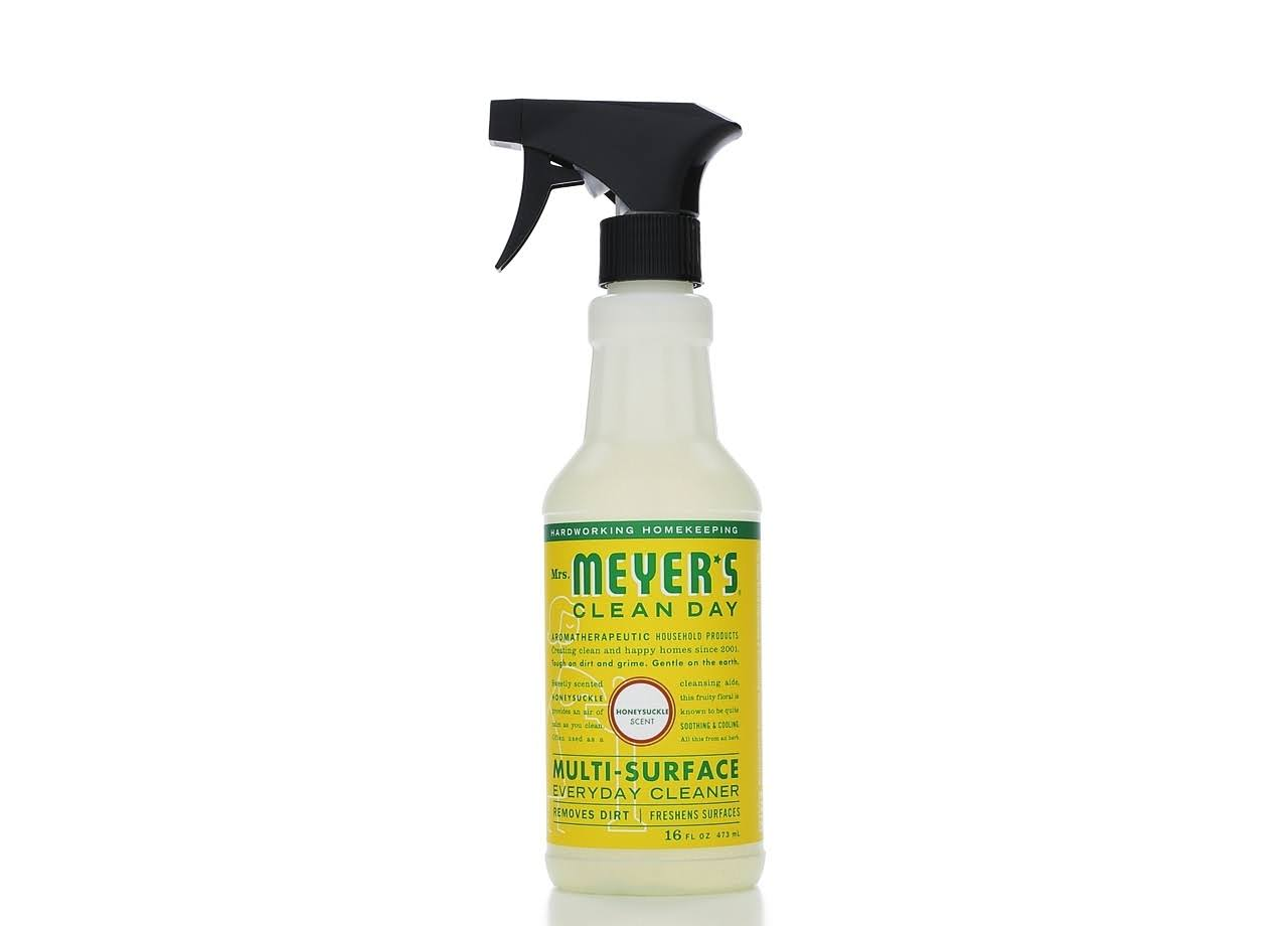 Mrs. Meyer's Clean Day Multi-Surface Everyday Cleaner - Hoenysuckle, 16oz