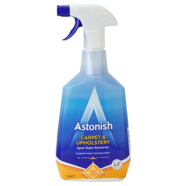 Astonish Carpet and Upholstery Spot Stain Remover - 750ml