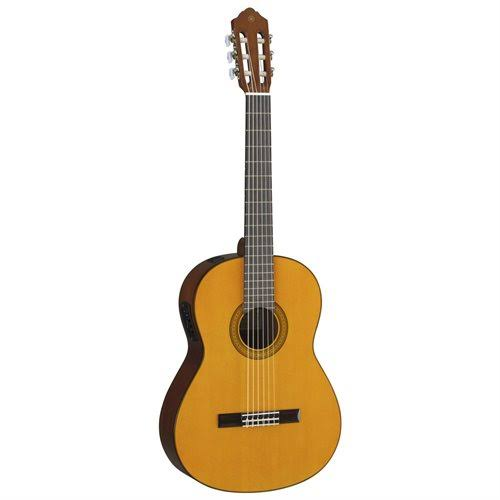 Yamaha CGX102 Natural Finish Classical Guitar with System 68N