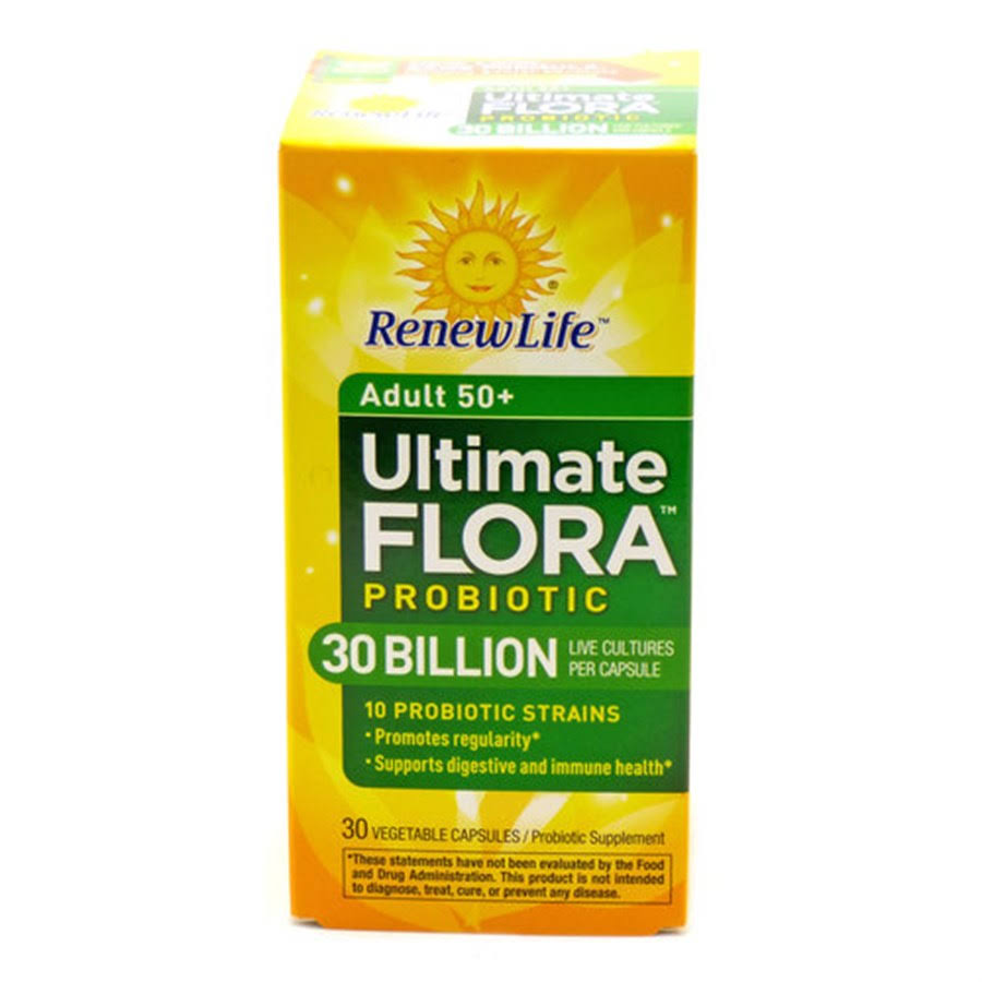 Ultimate Flora Senior Formula 30 Billion